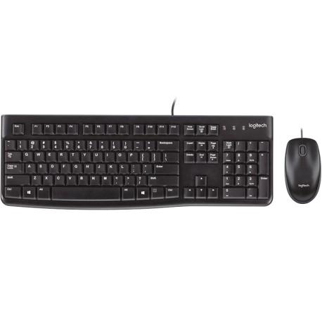 Kit teclado mouse logitech mk120