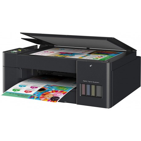 MULTIFUNCION INK TANK BROTHER DCP T420W SIST.CONT.